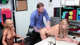 Hot mom and daughter be in love with getting fucked